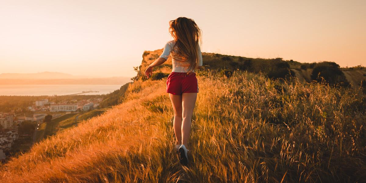 Slow-Jogging, es kann   gar nicht langsam genug sein
