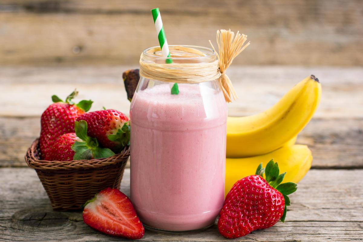 Fruchtiger Protein-Smoothie